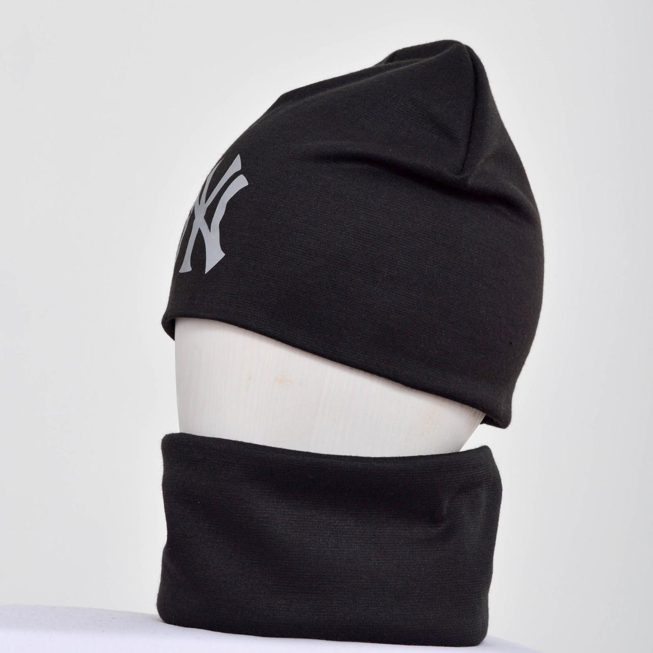 комплекты шапка и бафф оптом