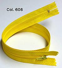 Плательная молния Тип 3 желтый лимон