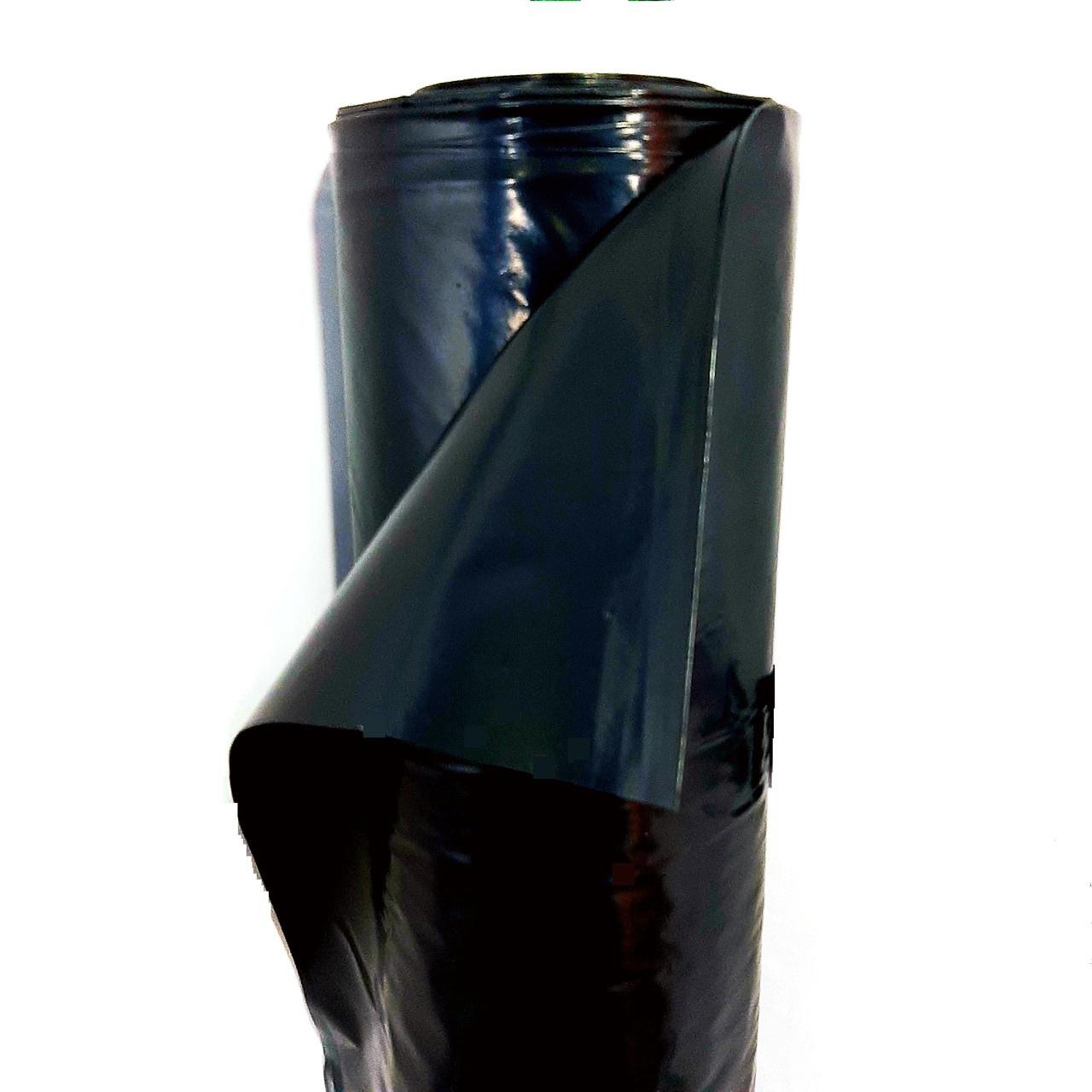Пленка черная полиэтиленовая 6м x 50м 100 мкм