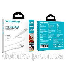 Кабель USB - Lighting TORNADO TX2 Silicone