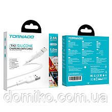 Кабель USB- Lighting TORNADO TX2 Silicone