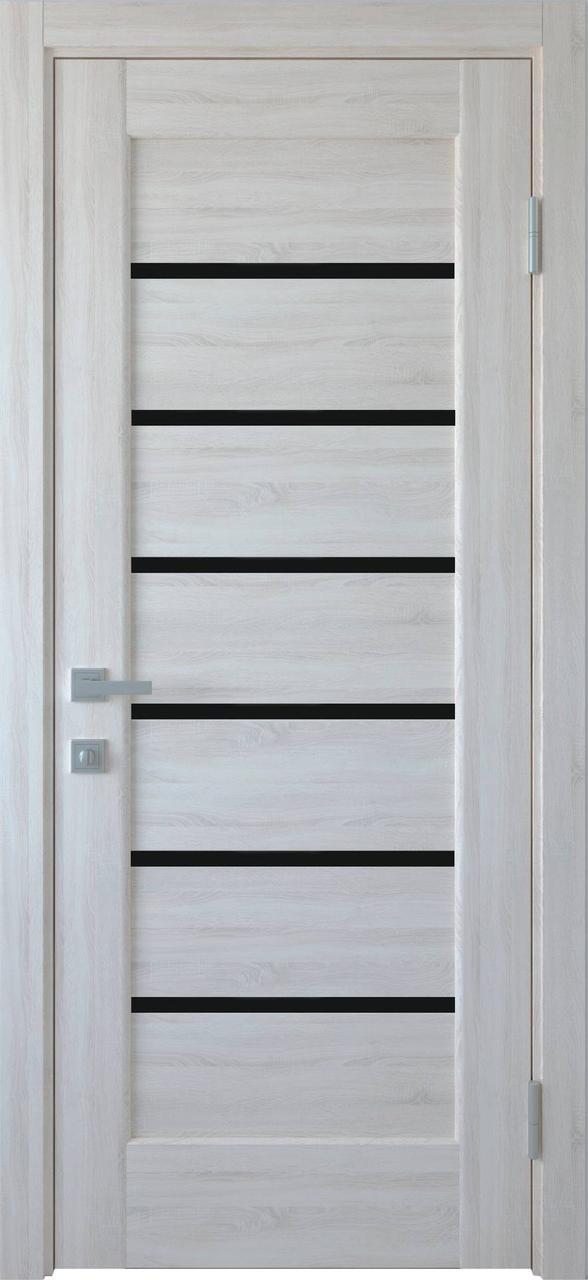 Дверне полотно ПВХ Ліннея ясний NEW 80 п/о (вітрина)