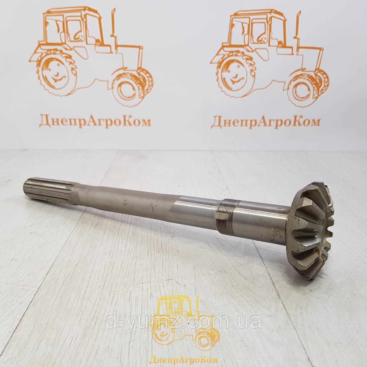 Вал вертикальный (кор. шлиц.) (пр-во МТЗ, Беларусь) 52-2308063