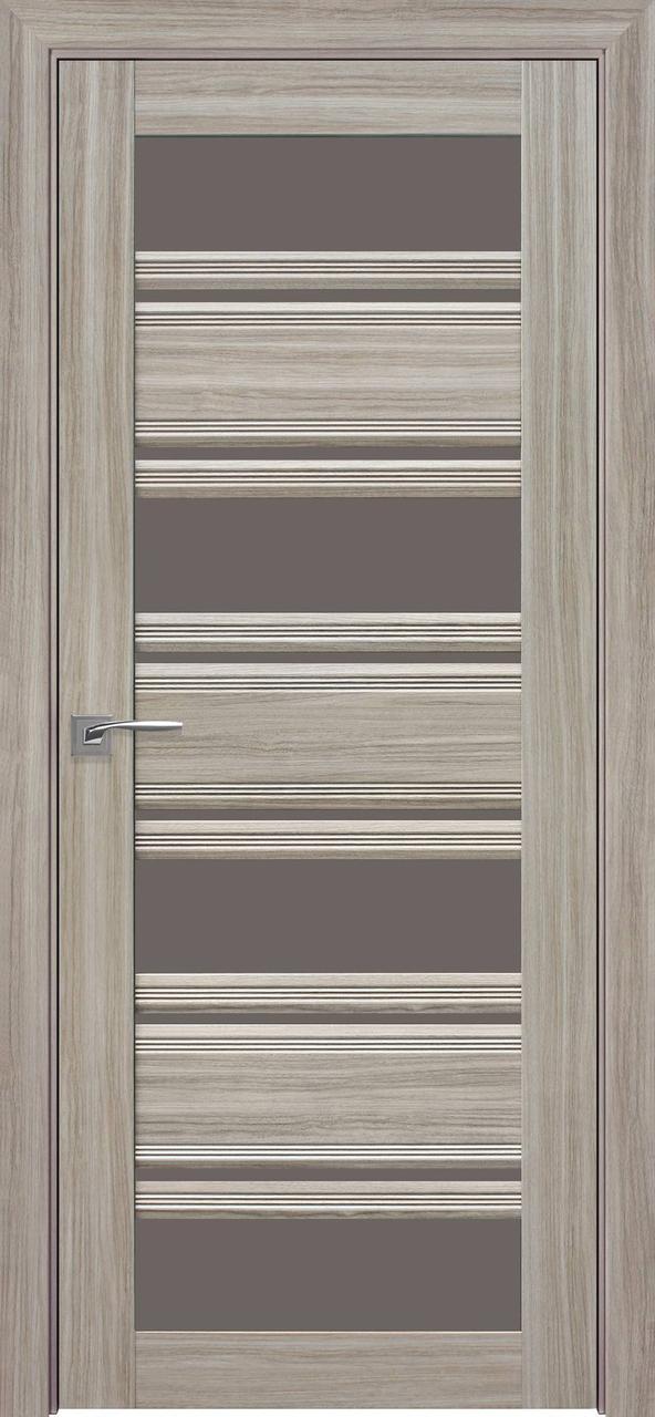 Дверне полотно ПВХ Смарт Венеция С2 перли magica 80 п/о (BLK) Вітрина