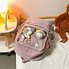 Однотонний рюкзак з іграшками, фото 10