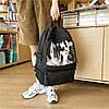 Однотонний рюкзак з іграшками, фото 4