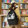 Однотонний рюкзак з іграшками, фото 5