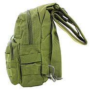 Рюкзак тактичний на одне плече AOKALI Outdoor A14 20L Green (5368-17001a), фото 2