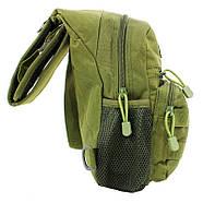 Рюкзак тактичний на одне плече AOKALI Outdoor A14 20L Green (5368-17001a), фото 3