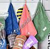 Банное полотенце микрофибра Однотонные (6)