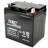 Универсальный аккумулятор UKC 12V 24Ah WST-24