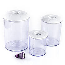 Набор вакуумных контейнеров Rommelsbacher VCK 525 (0,75 / 1,5 / 3 л)