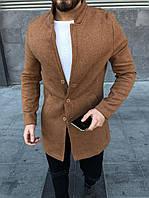 Коричневое мужское пальто ZP2