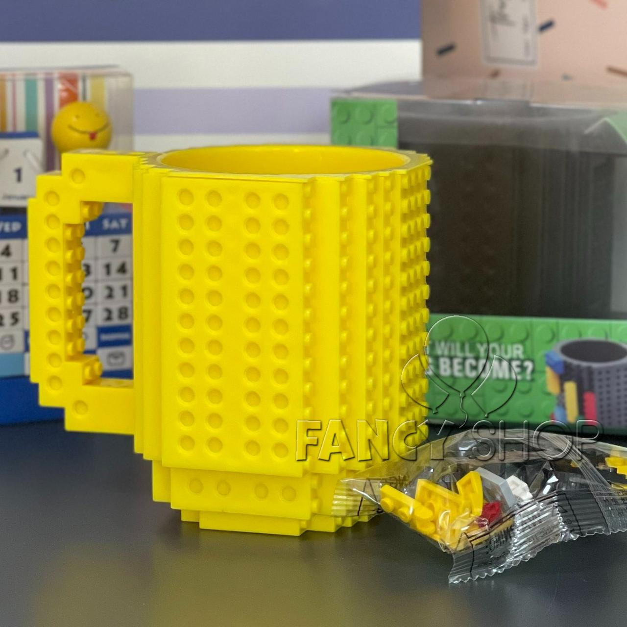 "Чашка ""Lego"", жовта, Кружка ""Лего"""
