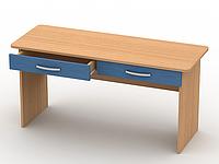 Стол для детского сада с ящиком (двухместный)