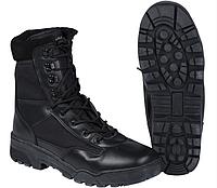 Кожаные тактические ботинки Mil-tec CORDURA черные
