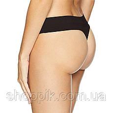 Набор женского белья топ стринги шортики Calvin Klein Monogram Black, фото 2