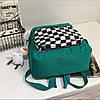 Рюкзак с карманом в клетку, фото 8