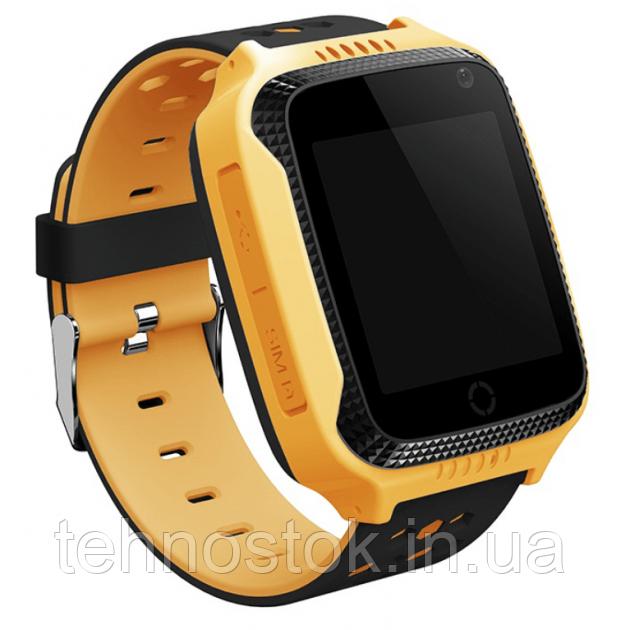 Часы Smart Watch Q528/SK-004/G900A Kids Gsm/Gps/фонарик Yellow Гарантия 1 месяц