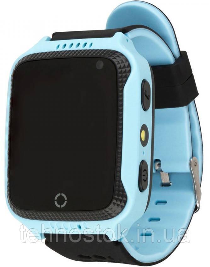 Годинник Smart Watch Q528/SK-004/G900A Kids Gsm/Gps/ліхтарик light blue Гарантія 1 місяць