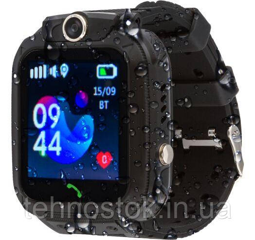 Часы Smart Watch AmiGo GO002 Swimming Camera WiFi Black UA UCRF Гарантия 12 месяцев