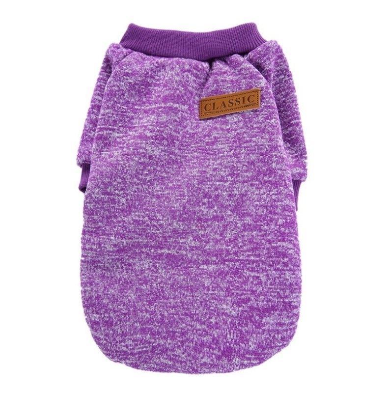 Джемпер для кошек «Классик», фиолетовый