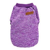 Джемпер для кошек «Классик», фиолетовый, фото 1