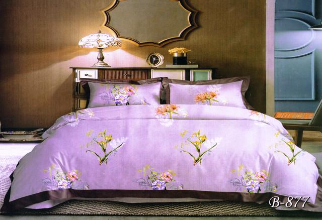 Полуторное постельное белье Тет-А-Тет В-436 бязь Gold (эконом)