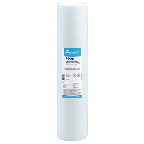 Картридж из вспененного полипропилена Ecosoft Big Blue 20 дюймов
