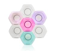 91023 Rainbow Сonnect & Color Bowls з'єднуючі райдужні миски для фарбування (7 шт в наборі)