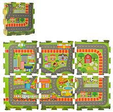 Килимок-пазл ігровий килимок-мат M 5800 з 6 деталей