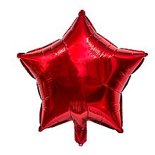 """Фольговані кульки """"Зірки"""" 18"""" (45 см) Червоний Balloons"""