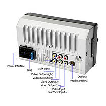 Автомагнітола 2DIN CML-PLAY 7018B магнітола 2 ДІН з екраном 7 дюймів (магнітола в авто, автомагнітола 2 дін), фото 2