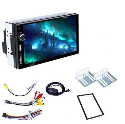 Автомагнитола 2DIN CML-PLAY A707 ANDROID 8.1 GPS WI-FI USB, фото 2