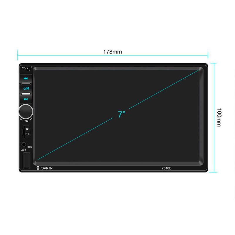 Автомагнитола 2DIN CML-PLAY 7018B 2-DIN с камерой заднего вида магнитола 2 ДИН