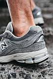 Мужские кроссовки New Balance 2002R Grey, фото 3