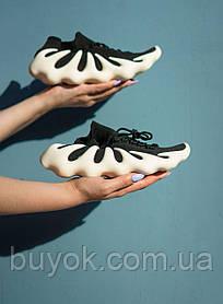 Чоловічі кросівки Adidas Yeezy 450 Black White H68040