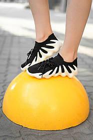 Женские кроссовки Adidas Yeezy 450 Black White H68040