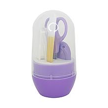Гигиенический набор прозрачный (фиолетовый)