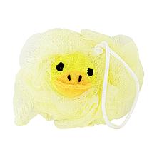 Детская мочалка для купания (жёлтая)