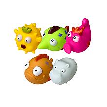 """Дитячі іграшки для ванної """"Тварини"""" (5 шт)"""