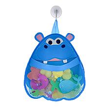 Органайзер для игрушек в ванную (Бегемот)
