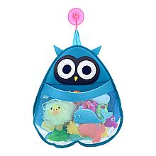Органайзер для игрушек в ванную (Сова)