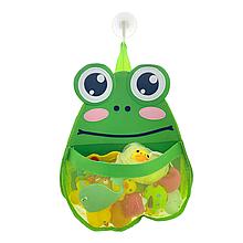 Органайзер для игрушек в ванную (Лягушка)