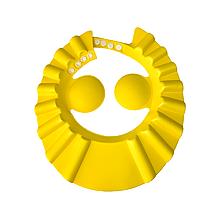 Козирок для миття голови (жовтий)