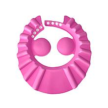 Козырёк для мытья головы (розовый)