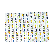 Многоразовые пеленки для детей бамбуковые 50*75 (Автомобили)