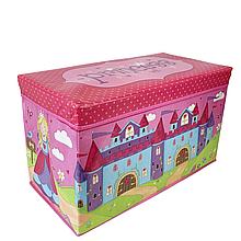 Пуф короб для игрушек (Принцесса)