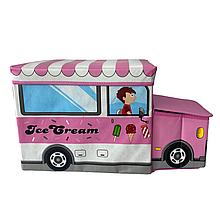 Бокс-пуфик для игрушек (Ice Cream)