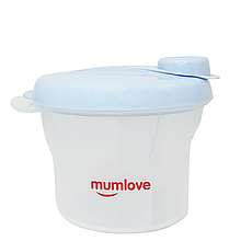 Контейнер для смеси Mumlove (голубой)